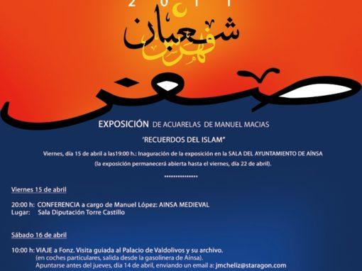 JORNADAS CULTURALES LA MORISMA 2011, HERALDICA Y MEDIEVO EN AINSA