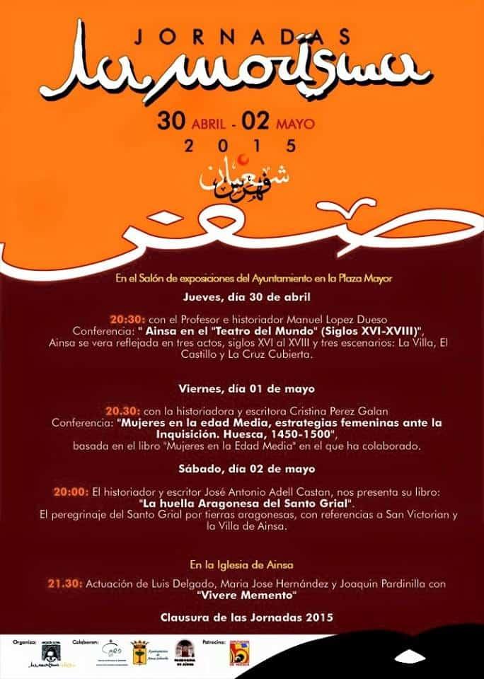 Jornadas Culturales La Morisma 2015 - 30 abril al 2 de Mayo