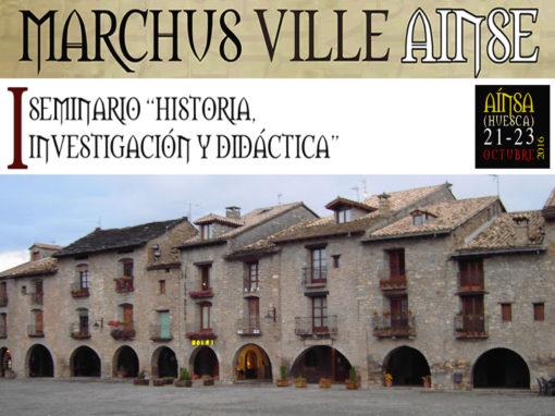 """Programa Arqueomercado """"Marchus Ville Ainsa"""""""