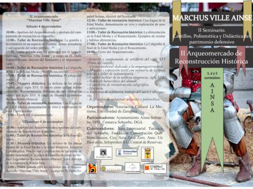 Programa Marchus Ville Ainse 2017