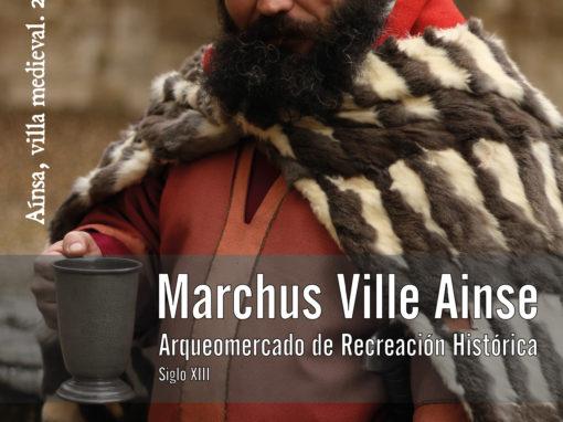 """""""III Marchus Ville Ainse"""" Castillo de Aínsa,  25, 26 y 27 de octubre de 2019"""